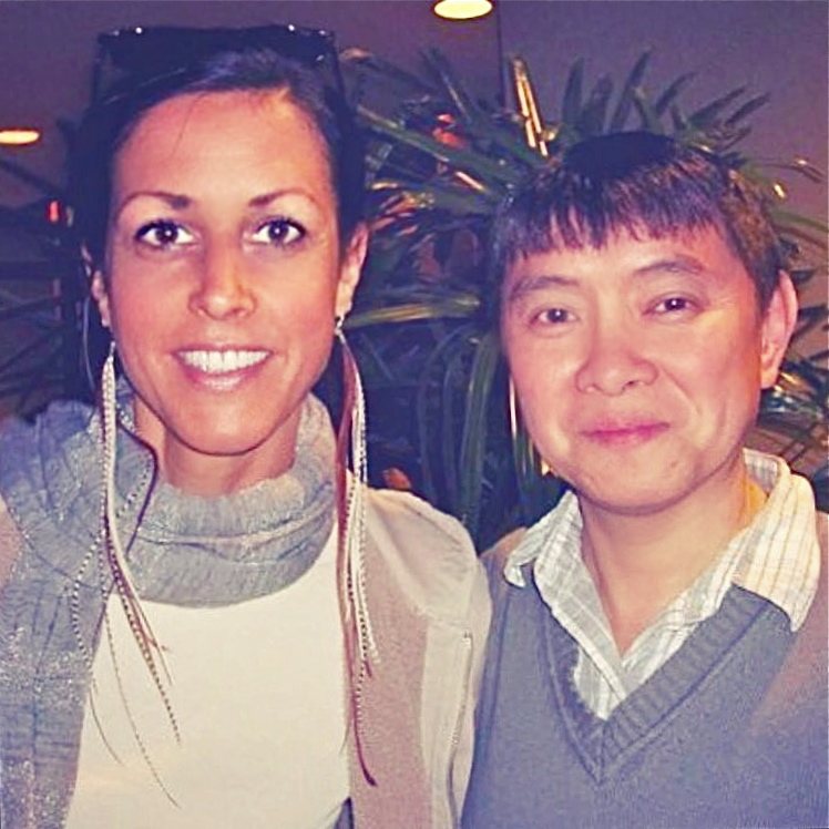 Wendy with one of her esteemed mentors, Jeffery Yuen, with whom she has studied in the continuing education capacity since the year 2000. Here, pictured at Pacific Symposium in San Diego, 2009.